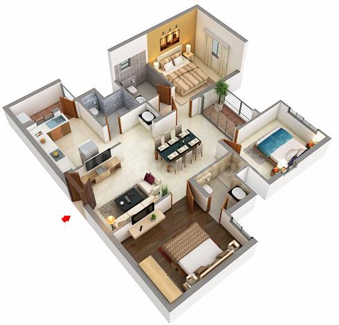 Lenox floor plan best free home design idea for The lenox floor plan